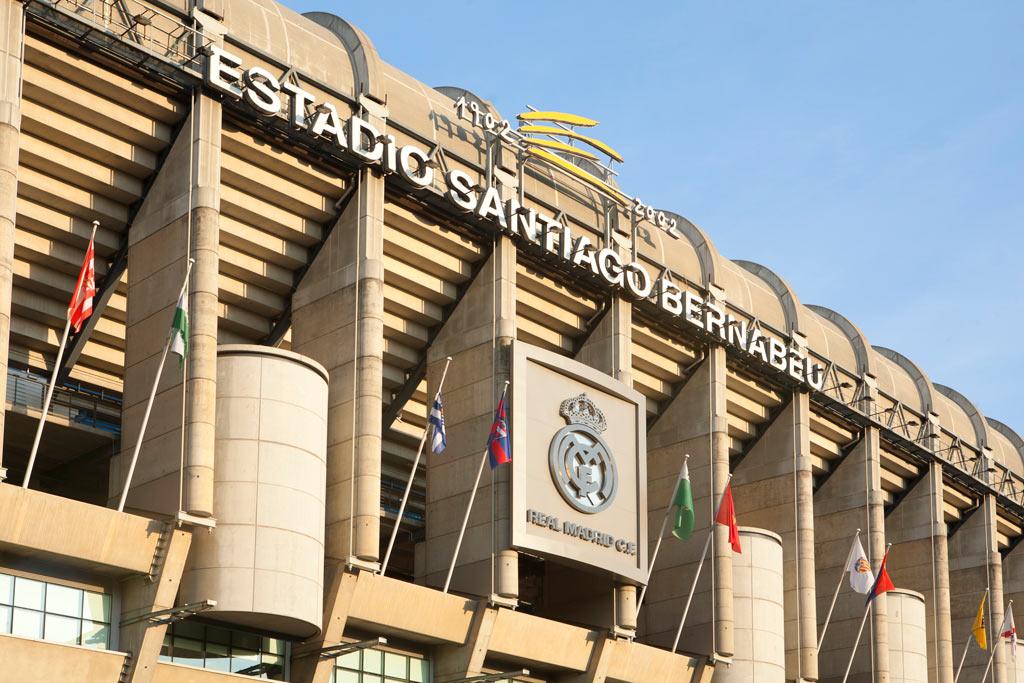 Estadio de fútbol Santiago Bernabéu